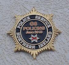 G8 SUMMIT JUNE 2013 PSNI NORTHERN IRELAND POLICE SERVICE UK USA ruc Irish pin