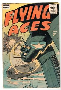 Flying Aces #3, Very Good Condition