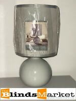 NEW Top Quality Verona Table Lamp - Light Grey - ONLY £9.99 and FREE P&P
