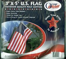 New 3' X 5' U.S.A. United States Flag Outdoor Quality