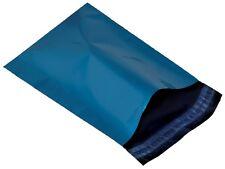50 x Metallisch Blau Plastik versand Beutel 10 14 10x14 245x345 mm 9.6 14