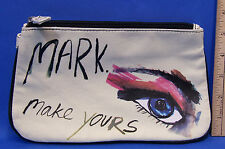 Avon Mark. Make Yours Make Up Bag Makeup Cosmetic Case Soft Canvas Padded Mark
