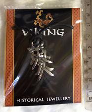 Viking Odin Mask Pendant Norse God Thor Pagan/Heathen Nordic Gods Necklace bnip