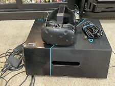 HTC Vive VR Headset With Deluxe Audio Strap, Linkbox, & Cables. Great Condition!