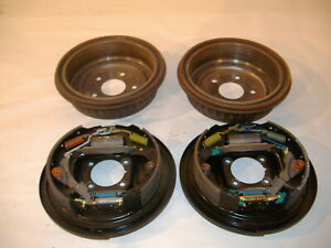 chevy s10 rear brake backing plates and drums 95-05 yr gmc sonoma astro van
