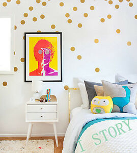 6cm Set of 18 Polka Dot Wall Stickers Decal Childs Kids Vinyl Art Decor spots
