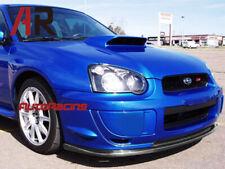 STI Style Front Bumper Carbon Fiber Add On Lip For Subaru 2003-2005 WRX STI GDB