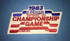 Rare Vintage 1983 USFL Championship Game Football Jacket Backpack Patch Crest