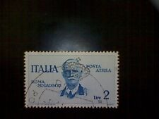 Stamps, Italy, Scott #C74, used(o), 1934 air mail, King Victor Emanuel Iii, 2L