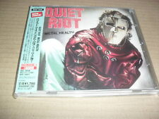 QUIET RIOT -METAL HEALTH- VERY HARD TO FIND JAPANESE PRESS MEGADETH AS/DC MINT