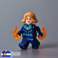 LEGO Captain Marvel 'Vers' Kree Starforce Uniform Super Heroes Minifigure 77902