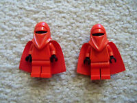 LEGO Star Wars - Rare Imperial Royal Guard Minifigs w/ Capes - 7264 10188 6211