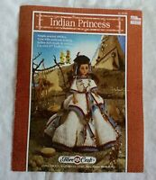 FIBRE CRAFT 1991 COWGIRL DOLL 15 INCH CROCHET PATTERN OOP 239