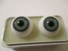 18 mm Hazel Hand Blown Vintage German Glass Eyes  14 mm Iris    X2