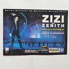 CPA Carte postale ZIZI JEANMAIRE au Zenith SERGE GAINSBOURG