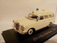 Mercedes 200 D Binz Ambulance (W 108) 1965 1/43