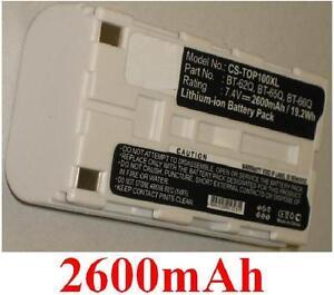 Battery 2600mAh Type BT-30 BT-62Q BT-65Q BT-66Q For Topcon GPT-9000, FC-100