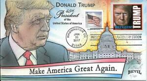 BEVIL HP ELECTRIC VARIETY PRESIDENT DONALD TRUMP INAUGURATION DAY 2017 Sc 5052