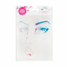 Jane Davenport Acrylic Portrait Woman Face Stamps for Watercolor Paint NEW