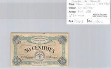 Chambre de Commerce d'Eure & Loir 50 Centimes Avril 1917 Pirot 5