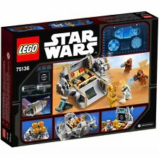 LEGO Disney Star Wars Droid Escape Pod Building Toy Set 75136 FREE SHIPPING NEW