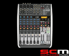 Behringer Xenyx QX1204USB 12-Input Mixer w/ FX & USB PA Performance Mixing Desk