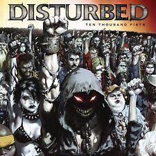 DISTURBED - TEN THOUSAND FISTS - NEW VINYL LP