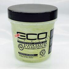 Eco Styler Black Castor & Flaxseed Oil Gel 8oz