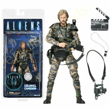 "NECA Aliens Colonel Cameron Colonial Marine Figure Alien Movie Director 7"" Doll"