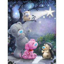 1Set Diamond Painting Cross Stitch Cartoon orso Mosaico 5D Diamante Ricamo