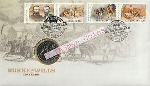 PNC Australia 2010 Burke & Wills 150 Years RAM 20c Commemorative Coin L/E 5000