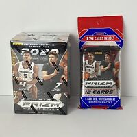 2020 Panini Prizm NBA Draft Picks Blaster Box + 1 Cello Pack Basketball Cards