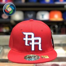 "Puerto Rico Snap Back Hat ""WBC"" RED&RED"