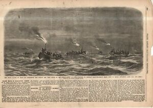 1861 Leslie's - Original print only; Fort Sumpter bombarded; Beauregard strategy