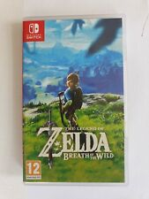 Nintendo The Legend of Zelda Breath of the Wild Nintendo Switch Game VGC