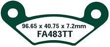 EBC GARNITURES DE FREIN fa483tt ESSIEU AVANT KEEWAY gtx300 QUAD 10