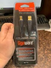 GigaWare 10-FT USB-A Male to USB-B Male Cable