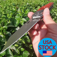 Assisted Folding Knife Pocket Tactical Knives Camping Hunting Survival Outdoor