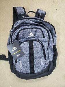 BNWT- adidas Prime V Backpack Men's Dark Grey, laptop soccer etc