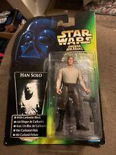 Han Solo In Carbonite Tri Logo Trilogo International POTF2 Green Star Wars MOC