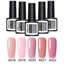 LEMOOC 5 Bottles/set Manicure Gel Polish Kit Set Classic Colors Nail UV LED Gel