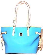 Dooney & Bourke Bailey Shoulder Bag Blue and Tan
