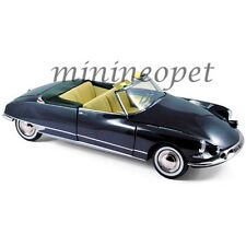 NOREV 181564 1961 CITROEN DS19 CABRIOLET 1/18 DIECAST MODEL CAR ROYAL BLUE