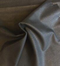 SALE Black Snakeskin Embossed Genuine Craft Leather Hides Upholstery Fabric 406