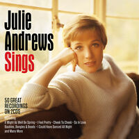 Julie Andrews - Sings [The Best Of / Greatest Hits] 2CD NEW/SEALED