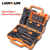 LOMVUM Screwdrivers Set Magnetic Precision Dismountable PC Phone Repair Tool DIY