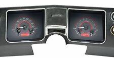 1968 Chevelle El Camino Dakota Digital Carbon Fiber & Red VHX Analog Gauge Kit