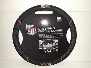 Cleveland Browns NFL Embroidered Steering Wheel Cover