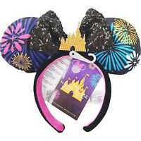 Disney Store Minnie Mouse Main Attraction Firework Castle December Ears UK - 12