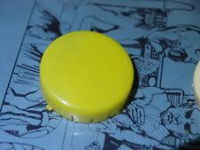 POP JET Anti-Chocs Cap Yellow x3 (3pcs) FLIPPER PINBALL new old stock Gottlieb